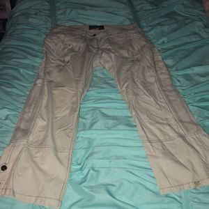 NOT THE SAME pants tan/light green color